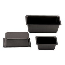 "3.13"" Non-Stick Loaf Pan (Set of 4)"