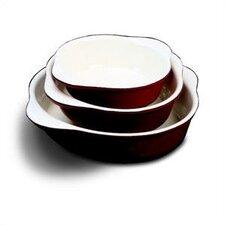 "6.23"" Enamel Round Dish"