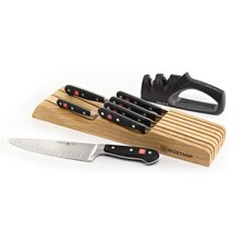 Classic 9 Piece In Drawer Gourmet Steak Knife Set