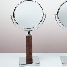 Kosmetic Victoria Patent Croco Makeup Mirror
