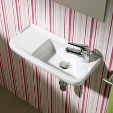 Universal Oxigen Wall Hung Ceramic Bathroom Sink