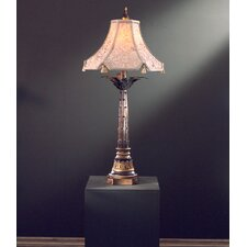 "37.25"" H Table Lamp with Bell Shade"