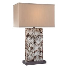 "29"" H Table Lamp with Rectangular Shade"