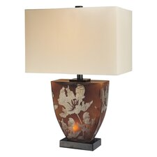 "23.5"" H Table Lamp with Rectangular Shade"