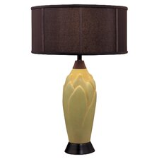 "28.5"" H Table Lamp with Drum Shade"