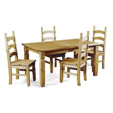 Corona Dining Table and 4 Chairs