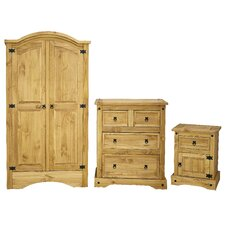 Corona 3 Piece Bedroom Set