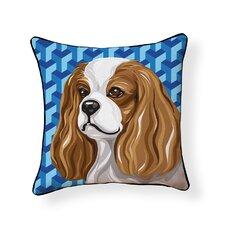 Pooch Décor King Charles Spaniel Throw Pillow