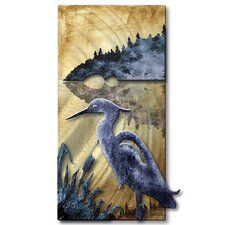 Blue Heron Wall Décor