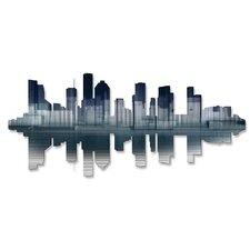 Houston Reflection Wall Décor