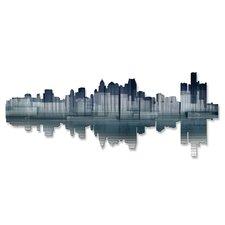Detroit Reflection Wall Décor