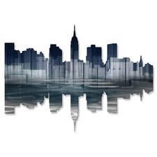 New York City Reflection II Wall Décor