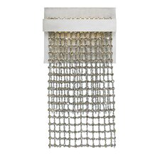 Mademoiselle 1 Light Single Layer Wall Sconce