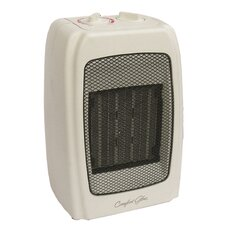 1500 Watt Portable Electric Compact Heater with Adjustable Thermostat
