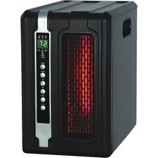 5,120 BTU Portable Electric Infrared Compact Heater with Remote Control