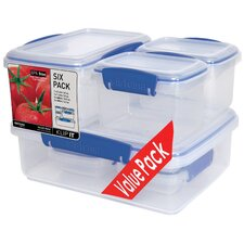 KLIP IT™ Value Pack Lunch Storage Containers (Set of 6)