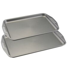 2-Piece Non-Stick Cookie Sheet Set