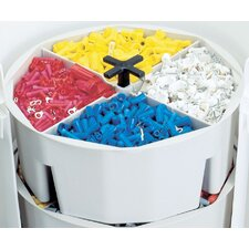 "Full-Round 10.5"" Wide Bucket Part Tray"