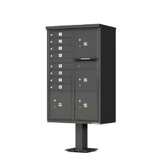 Vital™ Cluster Box Unit Type VI 8 Mailboxes with 4 Parcel Lockers