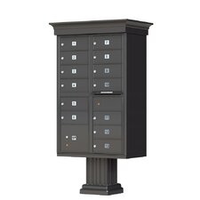 Vogue Type IV 13 Unit Cluster Box Unit with Traditional CBU Accessories