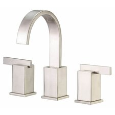 Sirius Double Handle Mini Widespread Bathroom Faucet