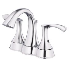 Antioch Double Handle Centerset Bathroom Faucet
