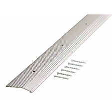 "0.5"" x 2"" x 36'' Carpet Reducer in Pewter"