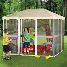 Children's 7 Ft. W x 7 Ft. D Aluminum Gazebo