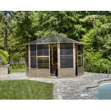 Four Season 12 Ft. W x 12 Ft. D Aluminum Gazebo