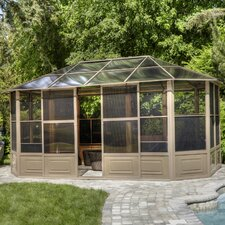 Four Season Solarium 12 Ft. W x 18 Ft. D Aluminum Gazebo