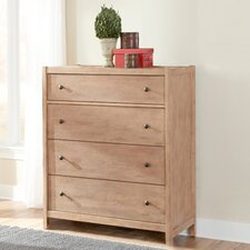 Natural Elements 4 Drawer Chest