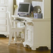 Cottage Traditions Computer Desk with Keyboard Tray