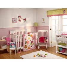 Minnie Petals Perfect 4 Piece Crib Bedding Set