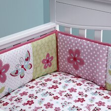 Minnie's Garden Padded Crib Bumper