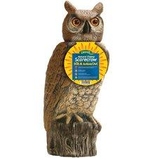 Gardeneer Solar Rotating Head Owl Statue