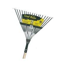 Handle Spring Action Metal Head Leaf Rake