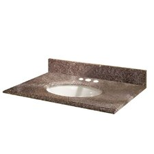 "Montero Granite 25"" Vanity Top with Sink"
