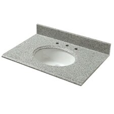 "Napoli 31"" Granite Vanity Top with Sink"
