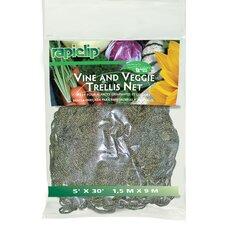 """5"""" x 30"""" Vine and Veggie Trellis Net (Set of 12)"""