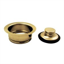 Universal Disposer Flange and Stopper
