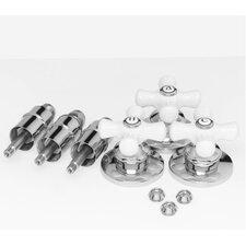 Porcelain Shower Handle Kit