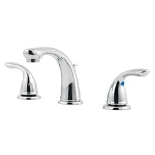 Pfirst Series Double Handle Widespread Standard Bathroom Faucet