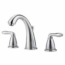 Serrano Double Handle Widespread Bathroom Faucet