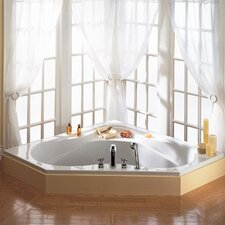 "Colony 60"" x 60"" Corner Soaking Bathtub"