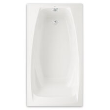 """Colony 60"""" x 33"""" Air Tub with Hydro Massage"""