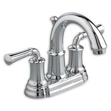 Portsmouth Centerset Bathroom Faucet with Double Lever Handles