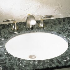 Ovalyn Large Undermount Bathroom Sink