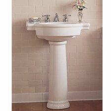 Retrospect Pedestal Bathroom Sink