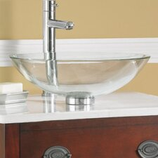 Dorian Glass Vessel Bathroom Sink