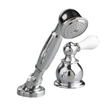 Hampton Diverter Hand Shower Faucet Trim Kit with Lever Handle